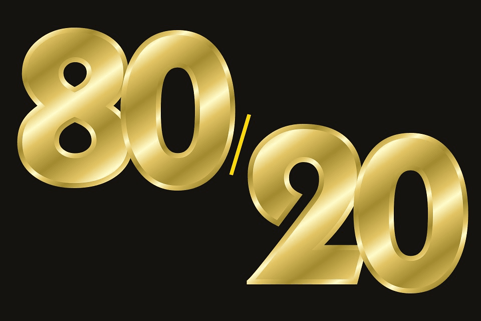 The New 80/20 Rule of Marketing and How to Get it Right