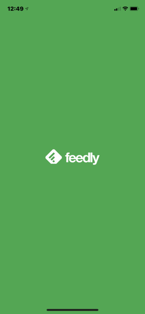 Feedly RSS Feed Reader Mobile app helps you keep up with digital marketing news