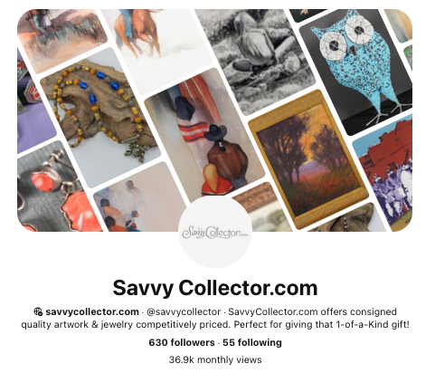 Savvy Collector on Pinterest