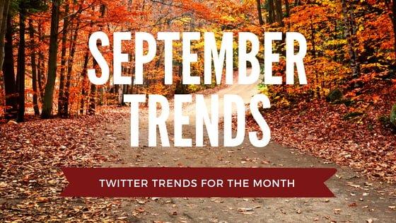 September trends for exposure
