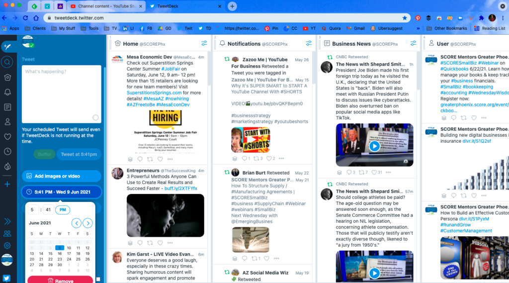 How to Use TweetDeck to manage Twitter and save time