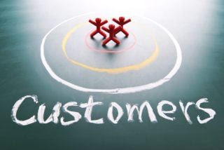 Think like your customers when you design your website.