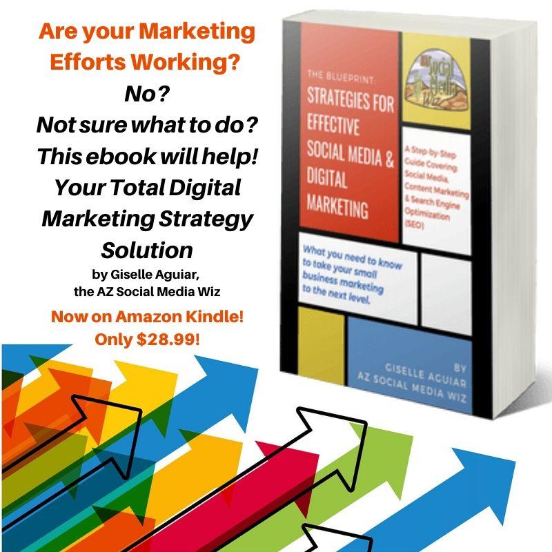 The Blueprint: Strategies for Effective Social Media and Digital Marketing https://amzn.to/2Uaxoa2