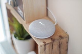 Google Home Mini - used for voice search