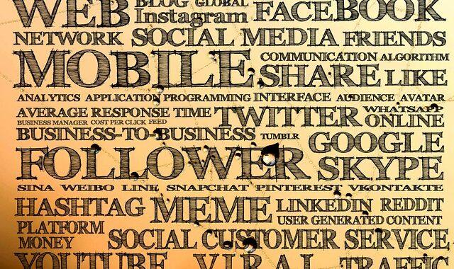 digital, social media, marketing, glossary